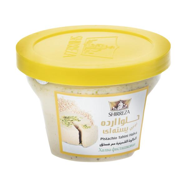 حلوا ارده پسته ای شیررضا - 500 گرم