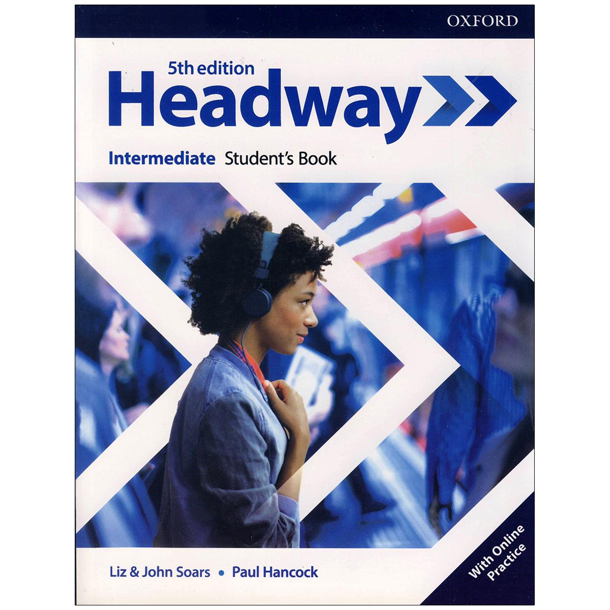کتاب  headway intermediate 5th edition اثر john and liz soars and Paul Hancock انتشارات آکسفورد