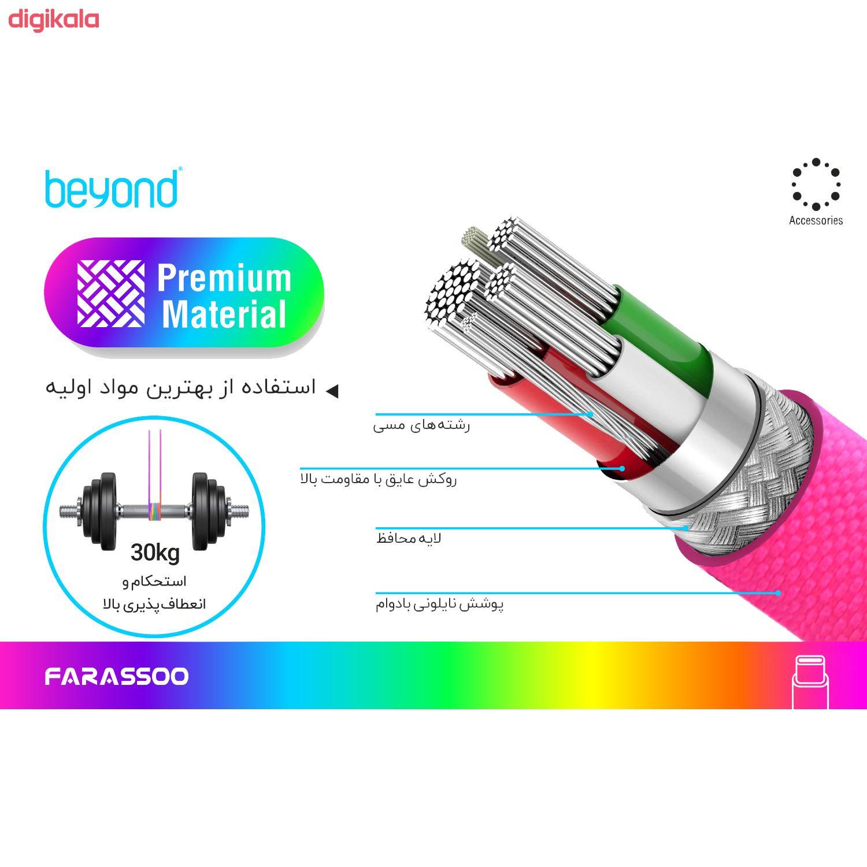 کابل تبدیل USB به USB-C بیاند مدل BA-501 طول 1 متر main 1 3