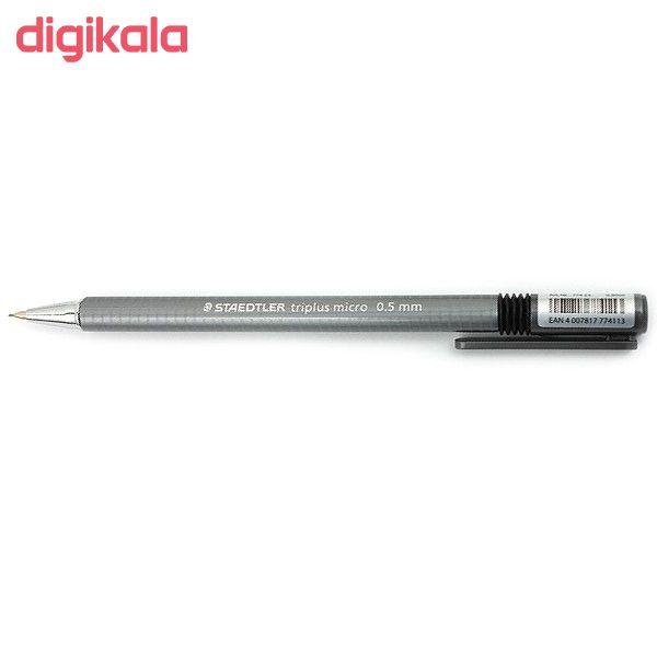 مداد نوکی 0.5 میلی متری استدلر مدل تریپلاس میکرو main 1 2