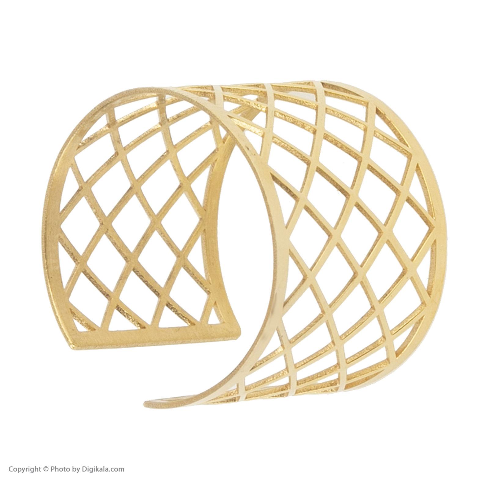 انگشتر طلا 18 عیار زنانه نیوانی مدل NR026 -  - 7