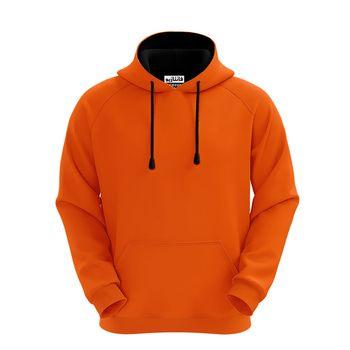 هودی مردانه نارنجی فانتازیو مدل رگلان کد 413