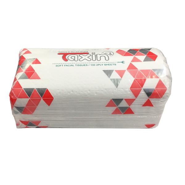 دستمال کاغذی 100 برگ تکسین مدل 1