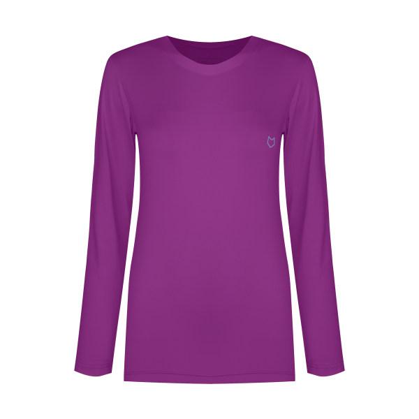 تی شرت آستین بلند ورزشی زنانه مل اند موژ مدل  W06677-906
