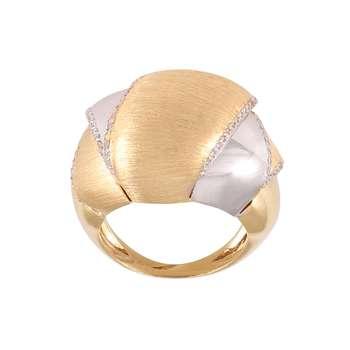 انگشتر طلا 18 عیار زنانه کد G776
