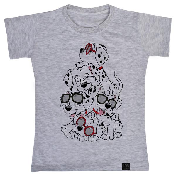 تی شرت پسرانه 27 طرح 101 سگ خالدار کد V04