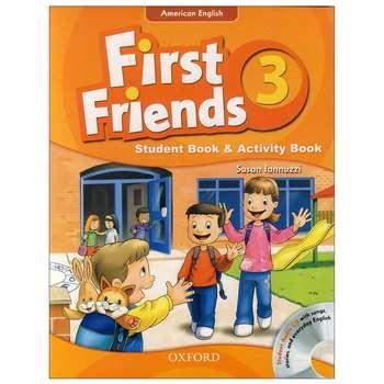 کتاب first friends 3 اثر Susan Iannuzzi انتشارات oxford