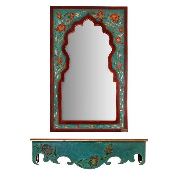 آینه و کنسول طرح شاه عباسی مثالین کد 314020