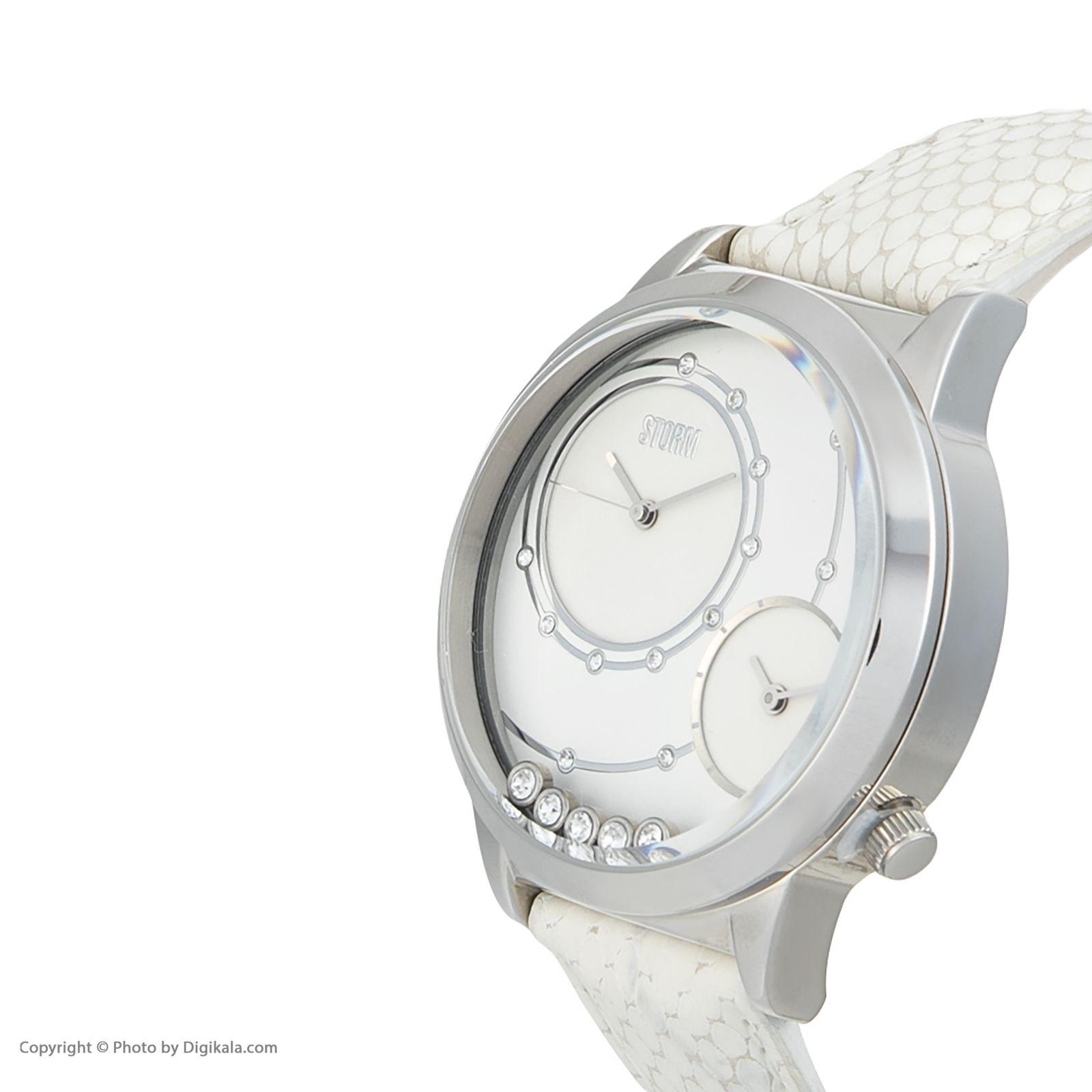 ساعت مچی عقربه ای زنانه استورم مدل ST 47128-W -  - 5