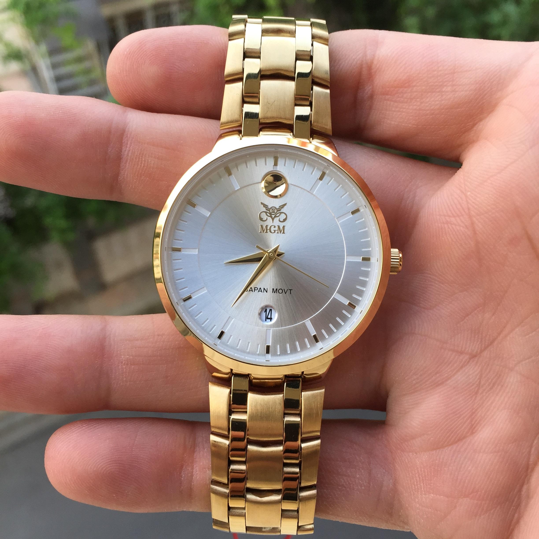 ساعت مچی عقربهای مردانه ام جی ام مدل 1022