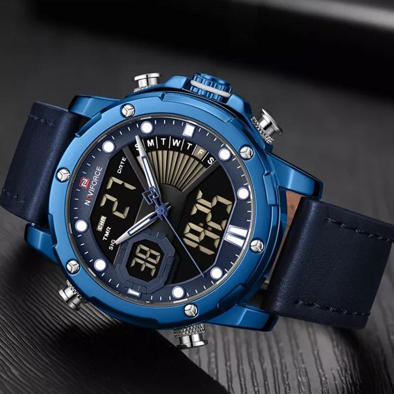 ساعت مچی دیجیتال مردانه نیوی فورس مدل NF9172M - SO              اصل