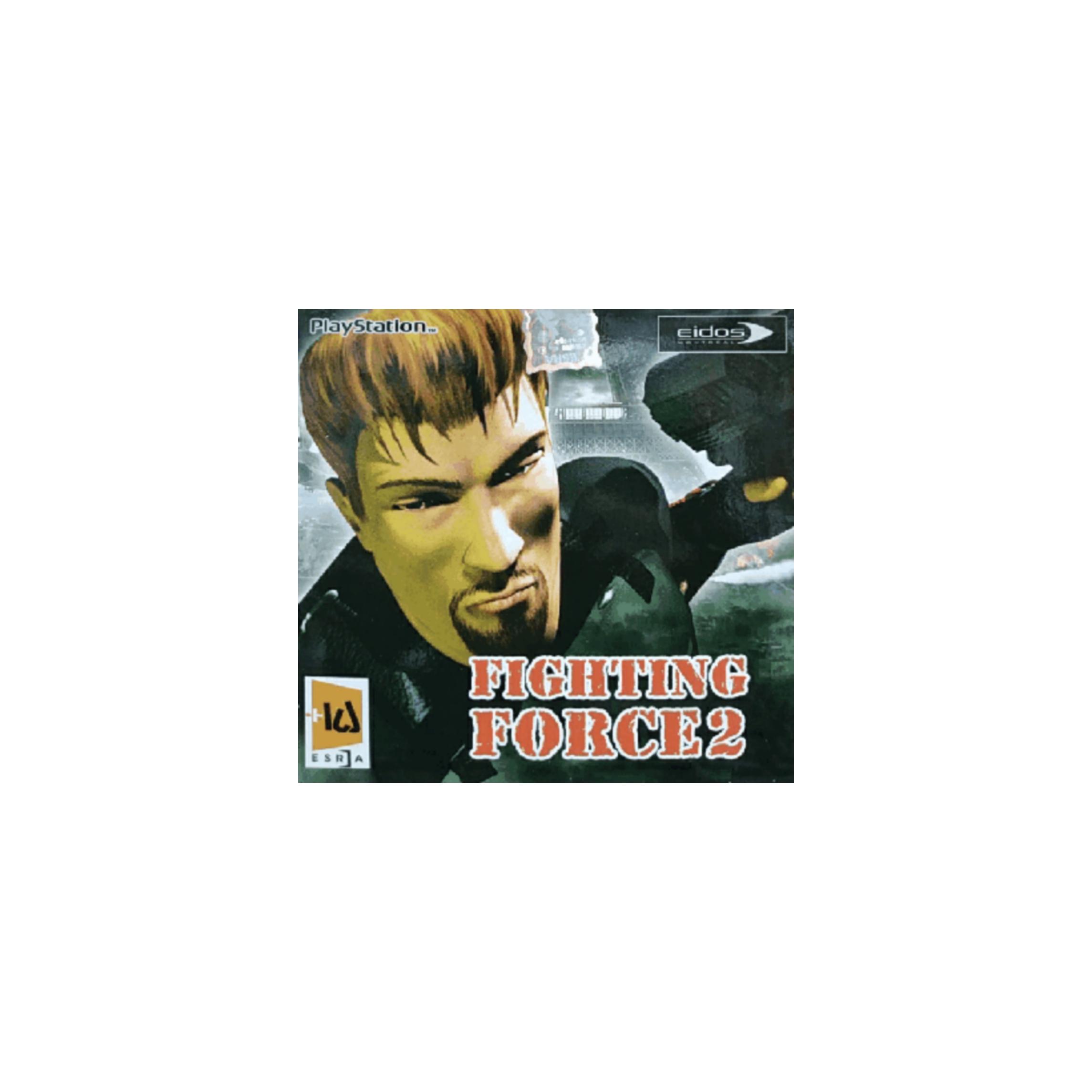 بازی FIGHTING FORCE2 مخصوص PS1