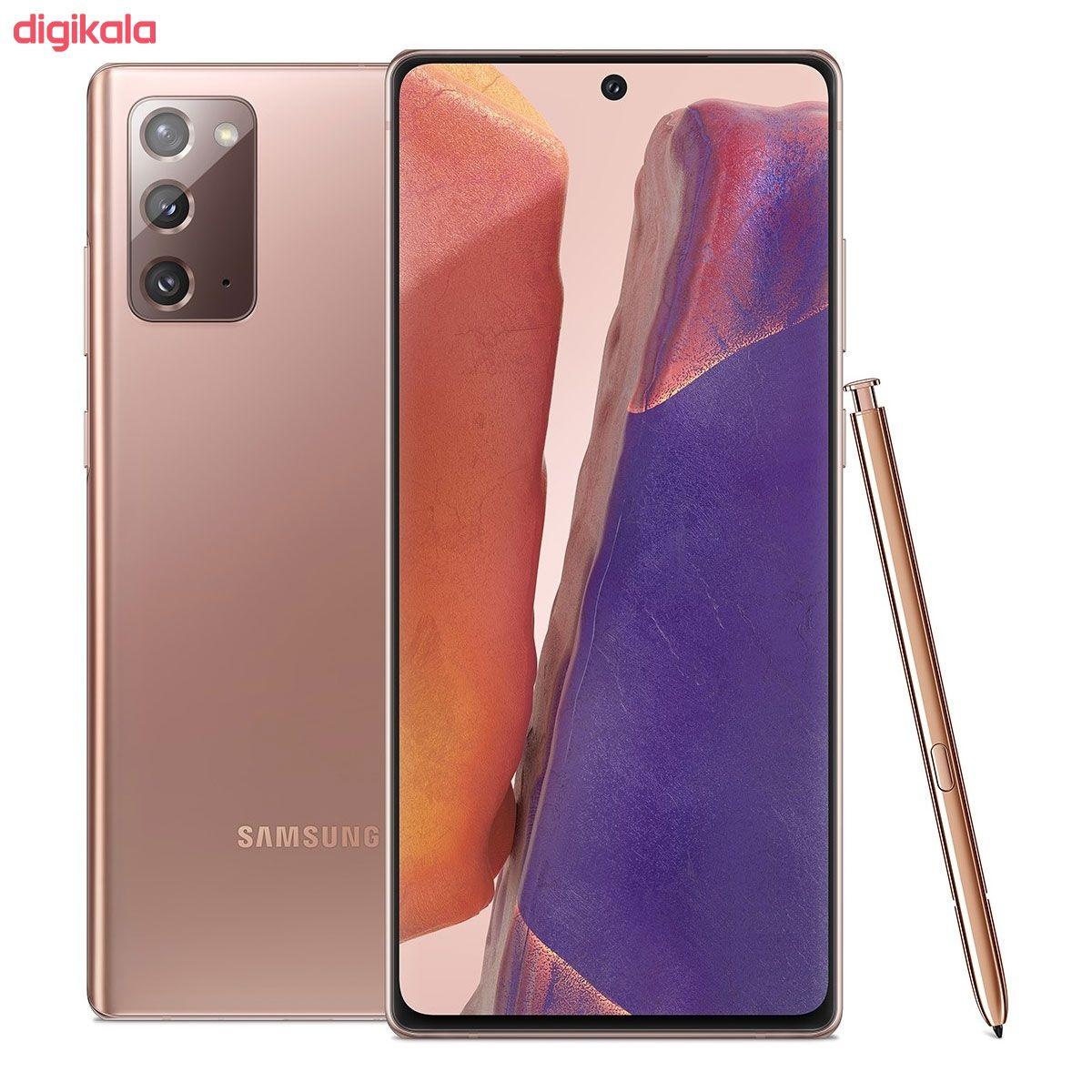 گوشی موبایل سامسونگ مدل Galaxy Note20 5G SM-N981B/DS دو سیم کارت ظرفیت 256 گیگابایت main 1 4