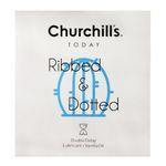کاندوم چرچیلز مدل Ribbed & Dotted بسته 3 عددی thumb