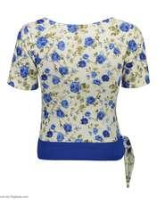 ست تی شرت و شلوارک زنانه کد 003 -  - 2