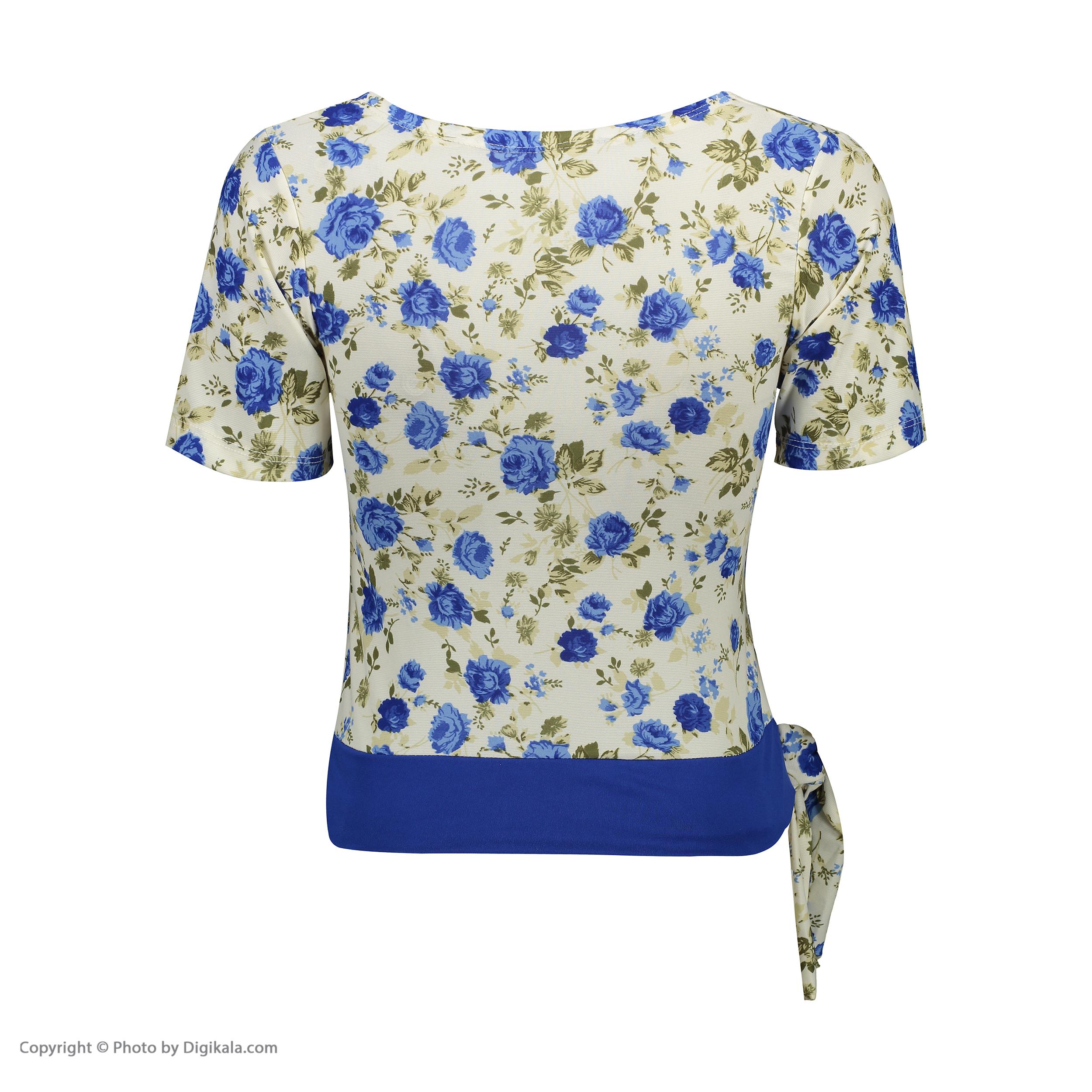 ست تی شرت و شلوارک زنانه کد 003 -  - 3