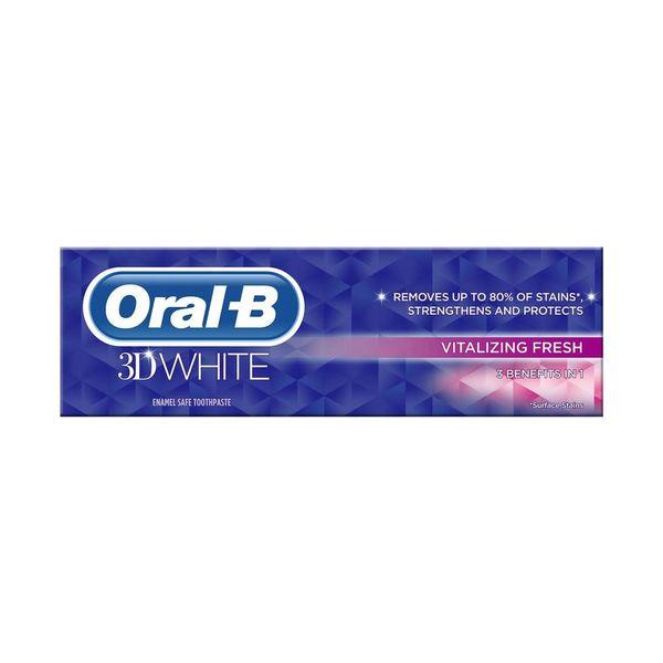 خمیر دندان اورال-بی سری Vitalizing Fresh حجم 75 میلی لیتر