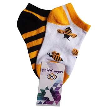جوراب بچگانه تن پوش هنگامه مدل زنبور Bz01