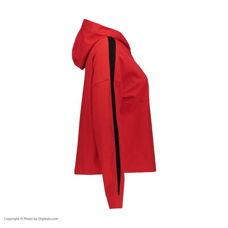 هودی ورزشی زنانه هالیدی مدل 857101-RED
