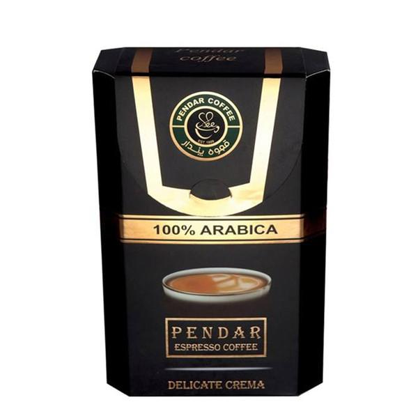 قهوه اسپرسو 100 درصد عربیکا پندار - 150 گرم