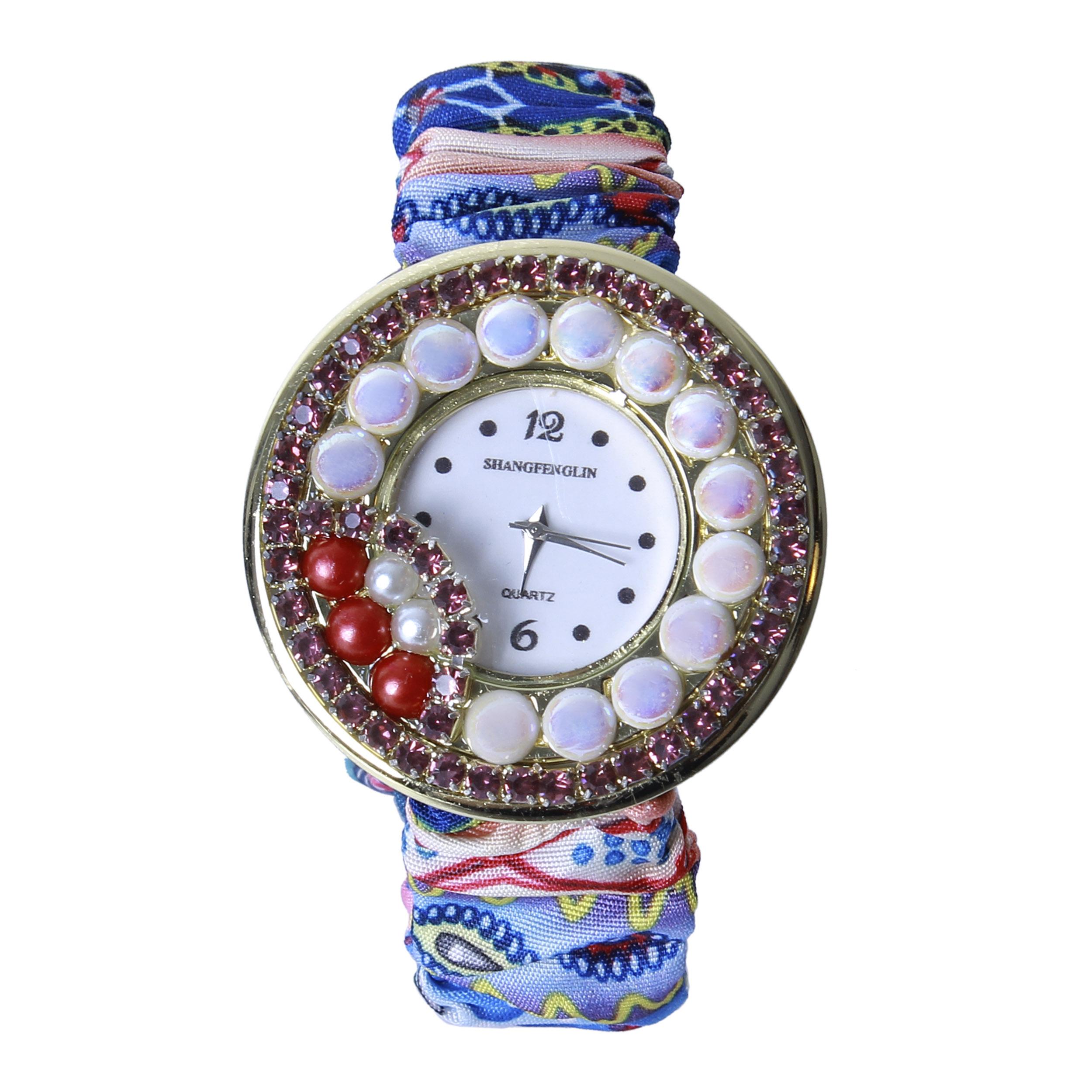 ساعت مچی عقربه ای زنانه کد WHW-218              ارزان