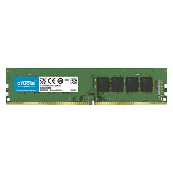 رم کامپیوتر DDR4 دو کاناله 3200 مگاهرتز CL22 کروشیال مدل CT16 ظرفیت 16 گیگابایت