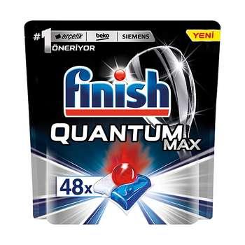 قرص ماشین ظرفشویی فینیش مدل کوانتوم مکس بسته 48 عددی