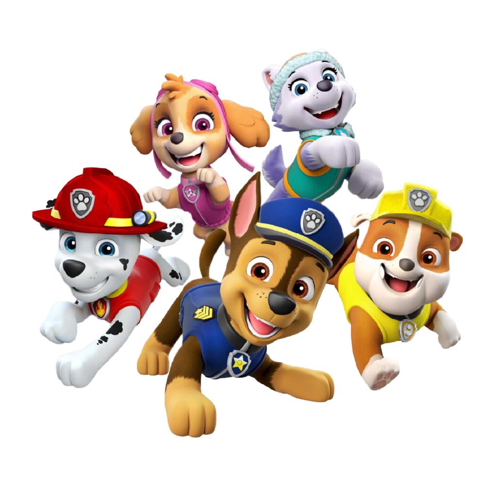 استیکر فراگراف کلید و پریز FG طرح سگ های نگهبان کد 012 paw patrol
