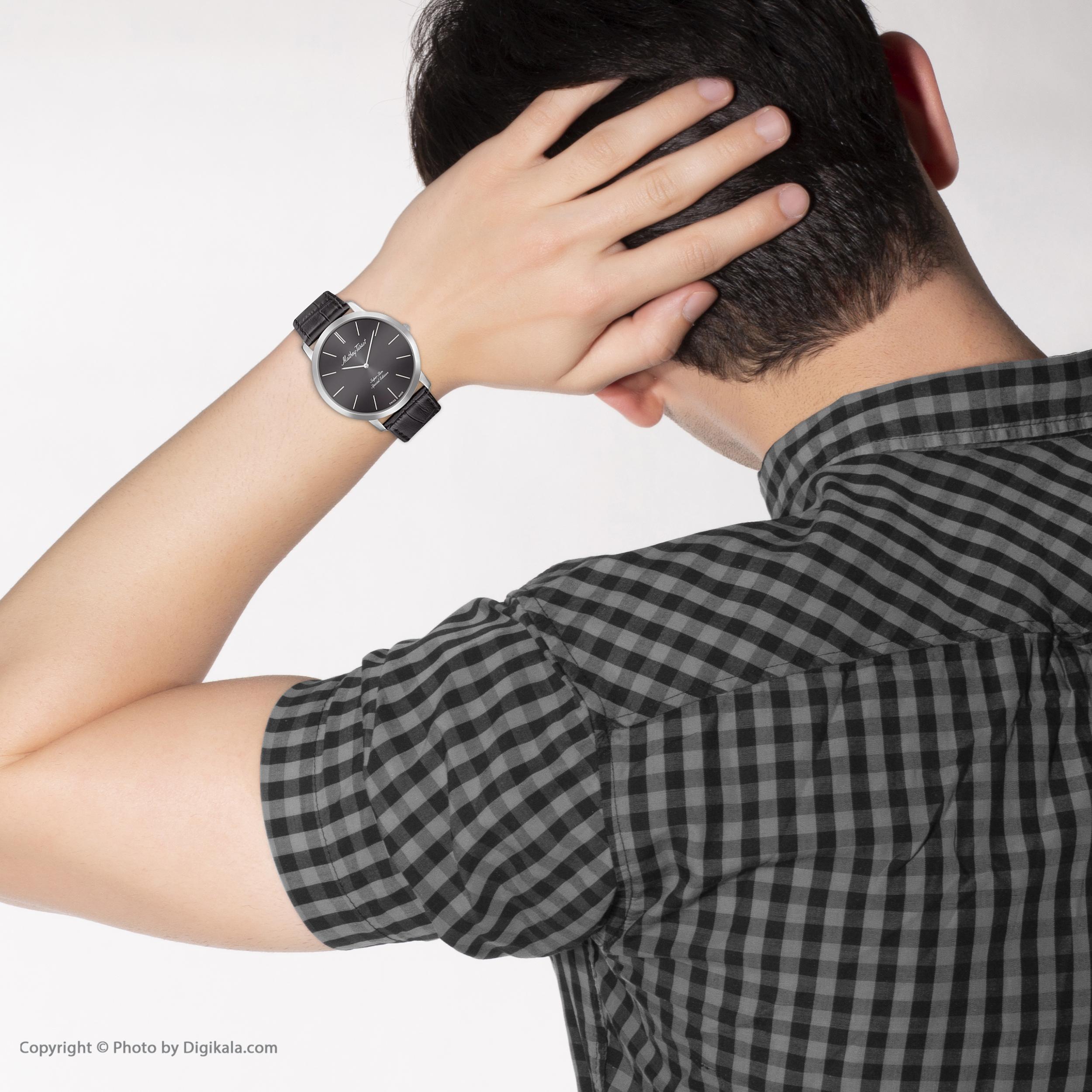 ساعت مچی عقربهای مردانه متی تیسوت مدل H6915AN