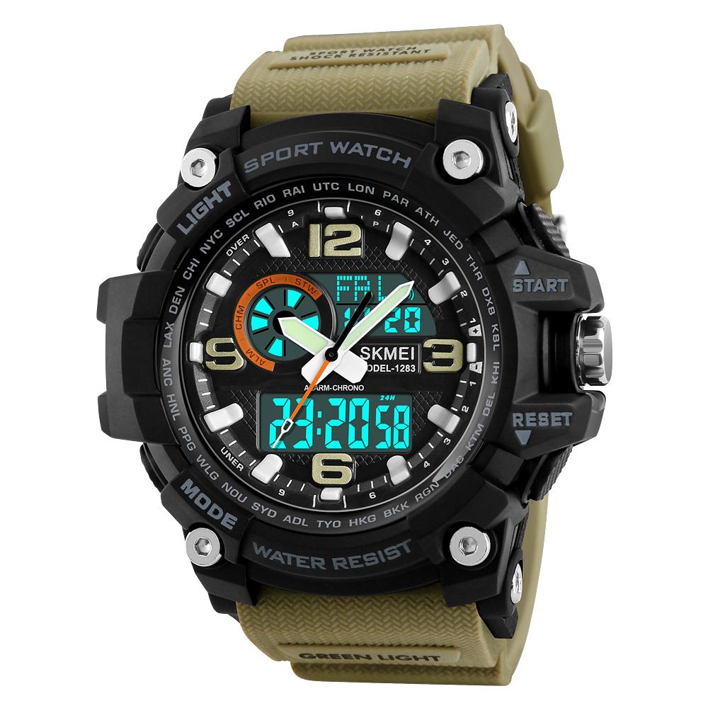 ساعت مچی عقربه ای مردانه اسکمی مدل 1283KH-NP -  - 4