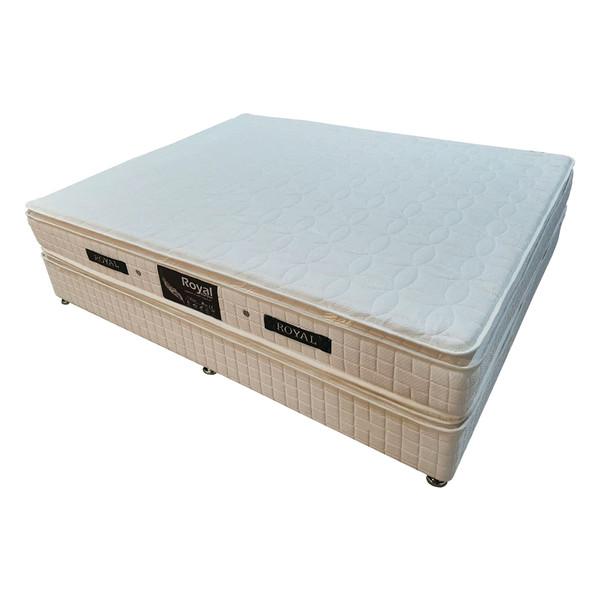 تخت خواب دو نفره رویال کد BL4 سایز 200 × 140 سانتیمتر