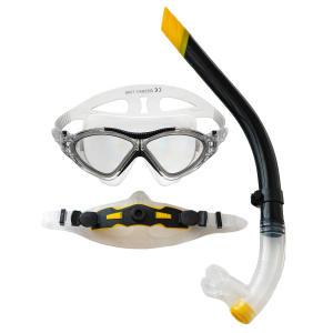 عینک و اسنورکل غواصی آکوا پرو مدل AQ-X5