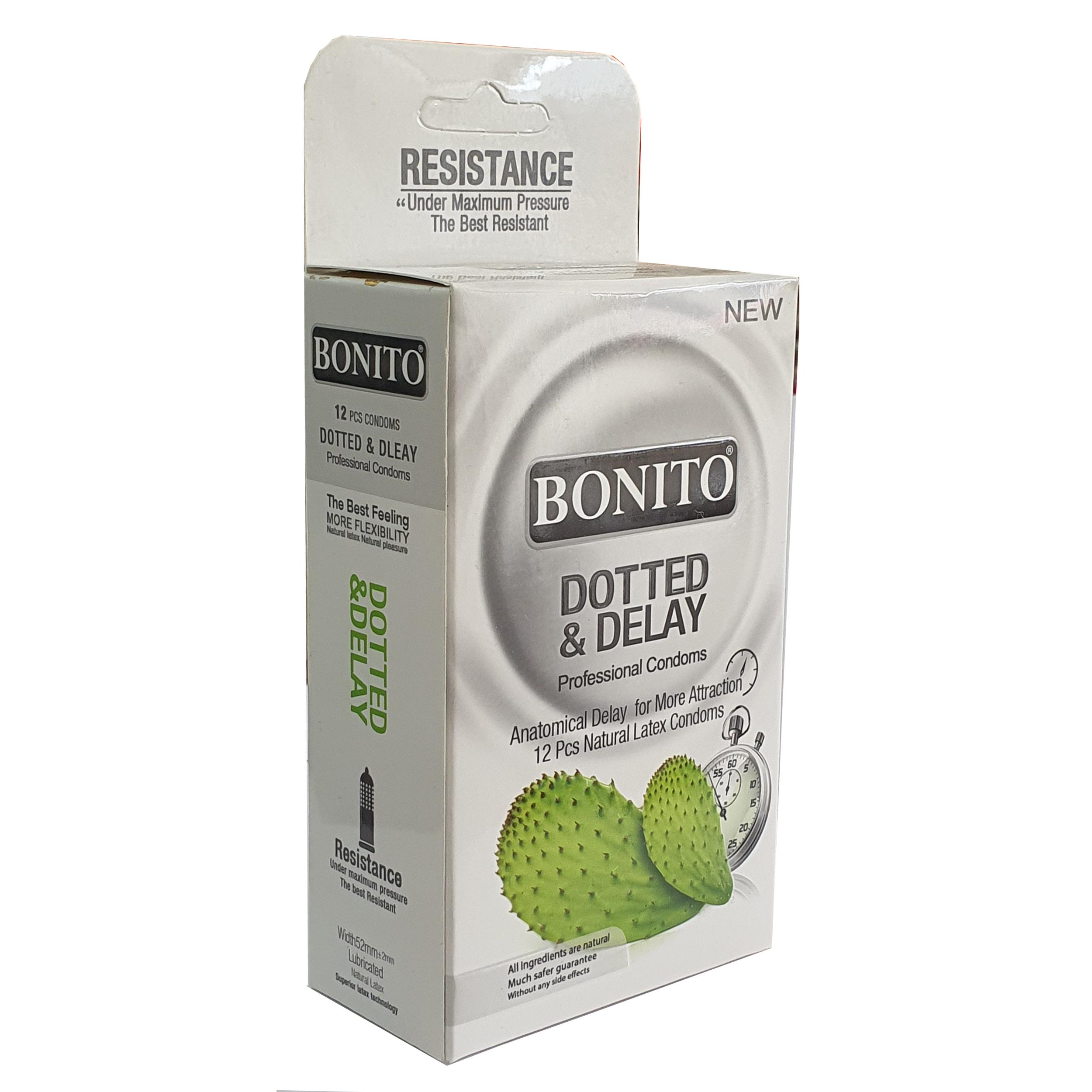 کاندوم بونیتو مدل Dotted & Delay بسته 12 عددی main 1 1