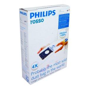 کیسه جارو برقی کد01 بسته 4 عددی مناسب برای جاروبرقی فیلیپس