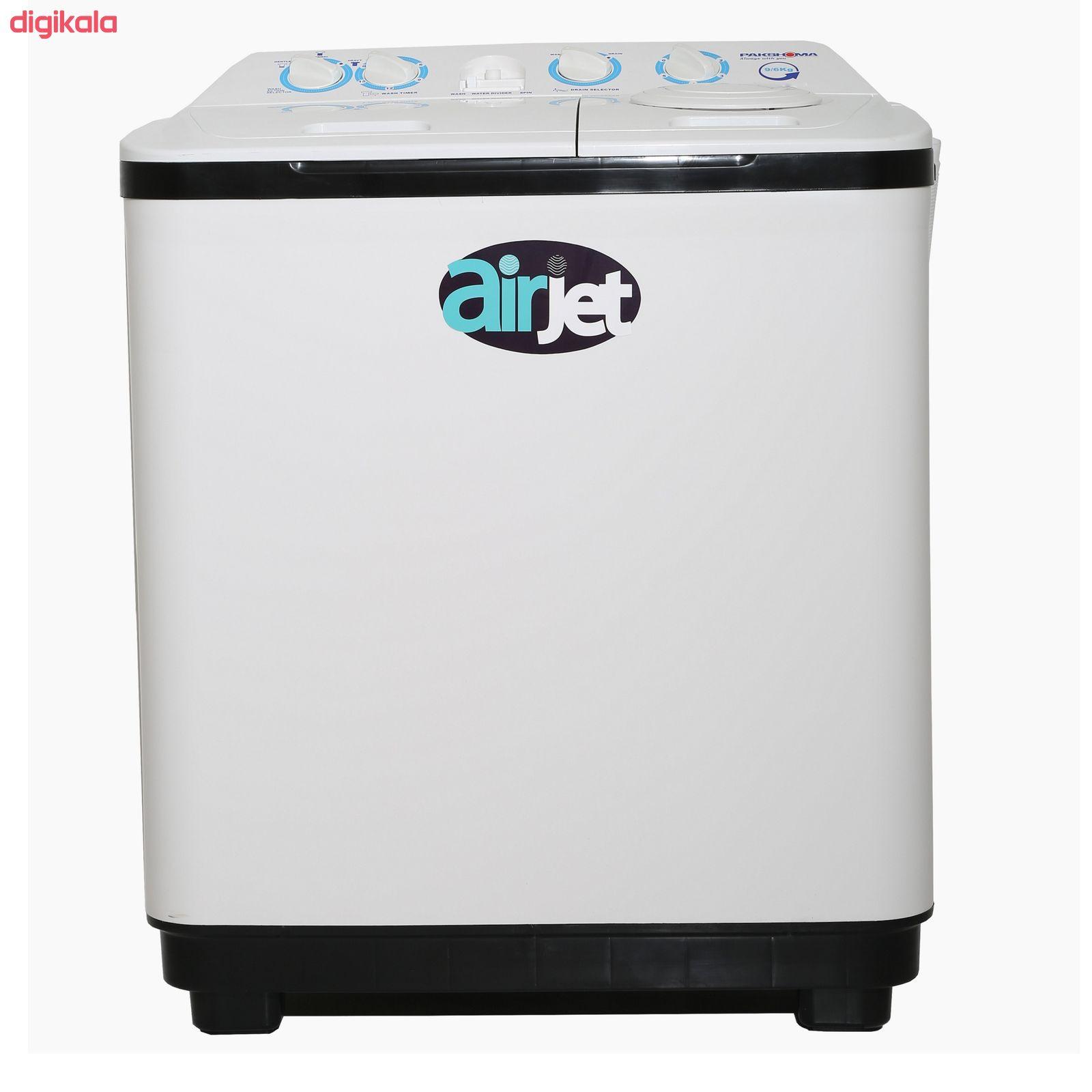 ماشین لباسشویی پاکشوما مدل PWN-9654AJ ظرفیت 9.6 کیلوگرم main 1 1