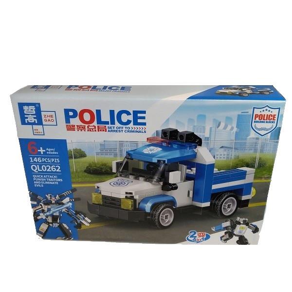 ساختنی مدل ماشین پلیس کد 0262