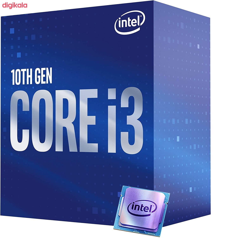 پردازنده مرکزی اینتل سری Coffee Lake مدل Core i3-10100 main 1 4