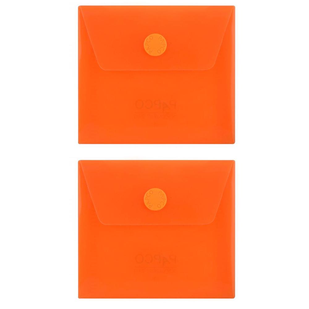 پوشه دکمه دار پاپکو مدل 101M بسته 2 عددی