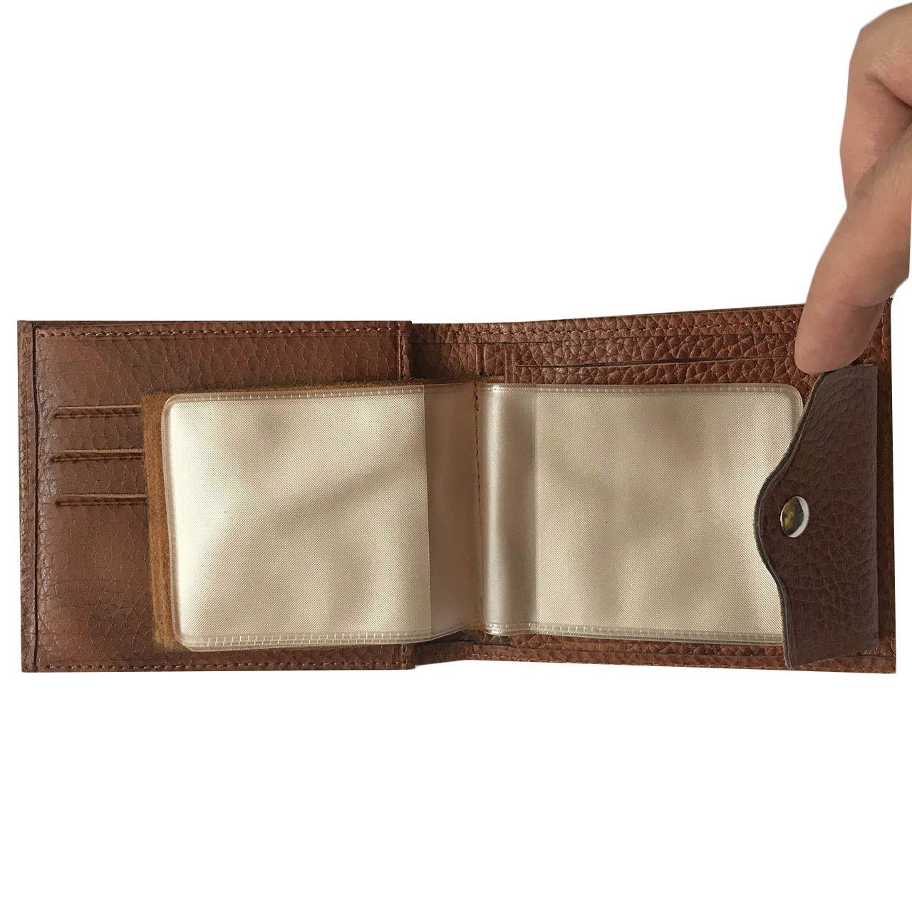 کیف پول مردانه رایا چرم مدل ELIA -  - 5