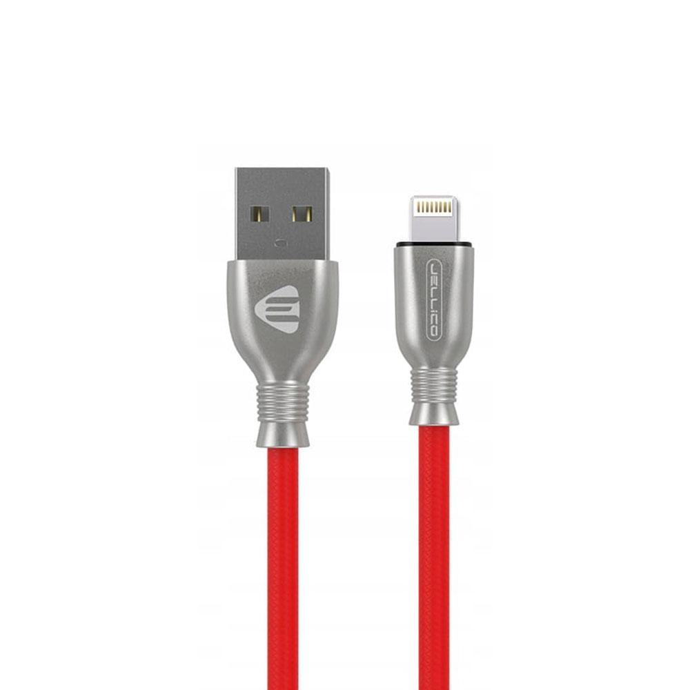 کابل تبدیل USB به لایتنینگ جلیکو مدل kds-60 طول 1.2 متر