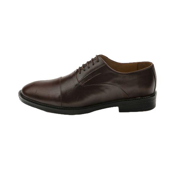 کفش مردانه چرم آرا مدل sh001