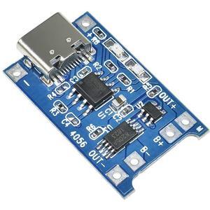 ماژول شارژ باتری لیتیومی مدل TP-4056TYPEC