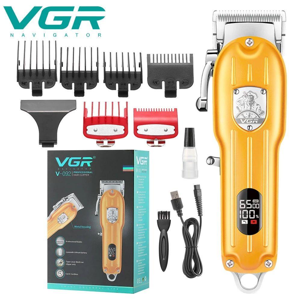 ماشین اصلاح موی سر و صورت وی جی ار مدل V-092 -  - 7
