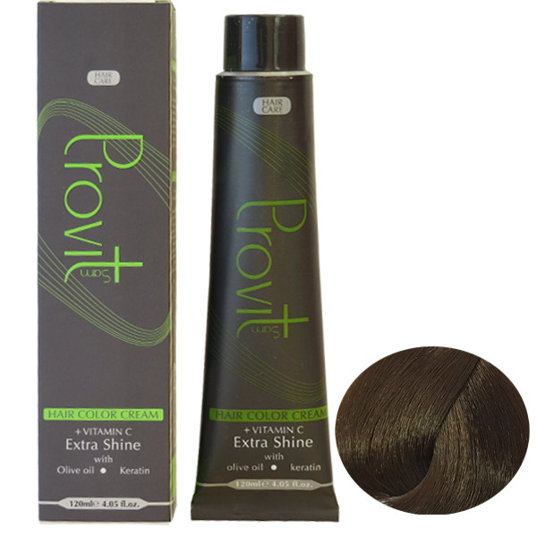 رنگ مو پرویت سری کنفی شماره 6/57 حجم 120 میلی لیتر رنگ بلوند کنفی تیره