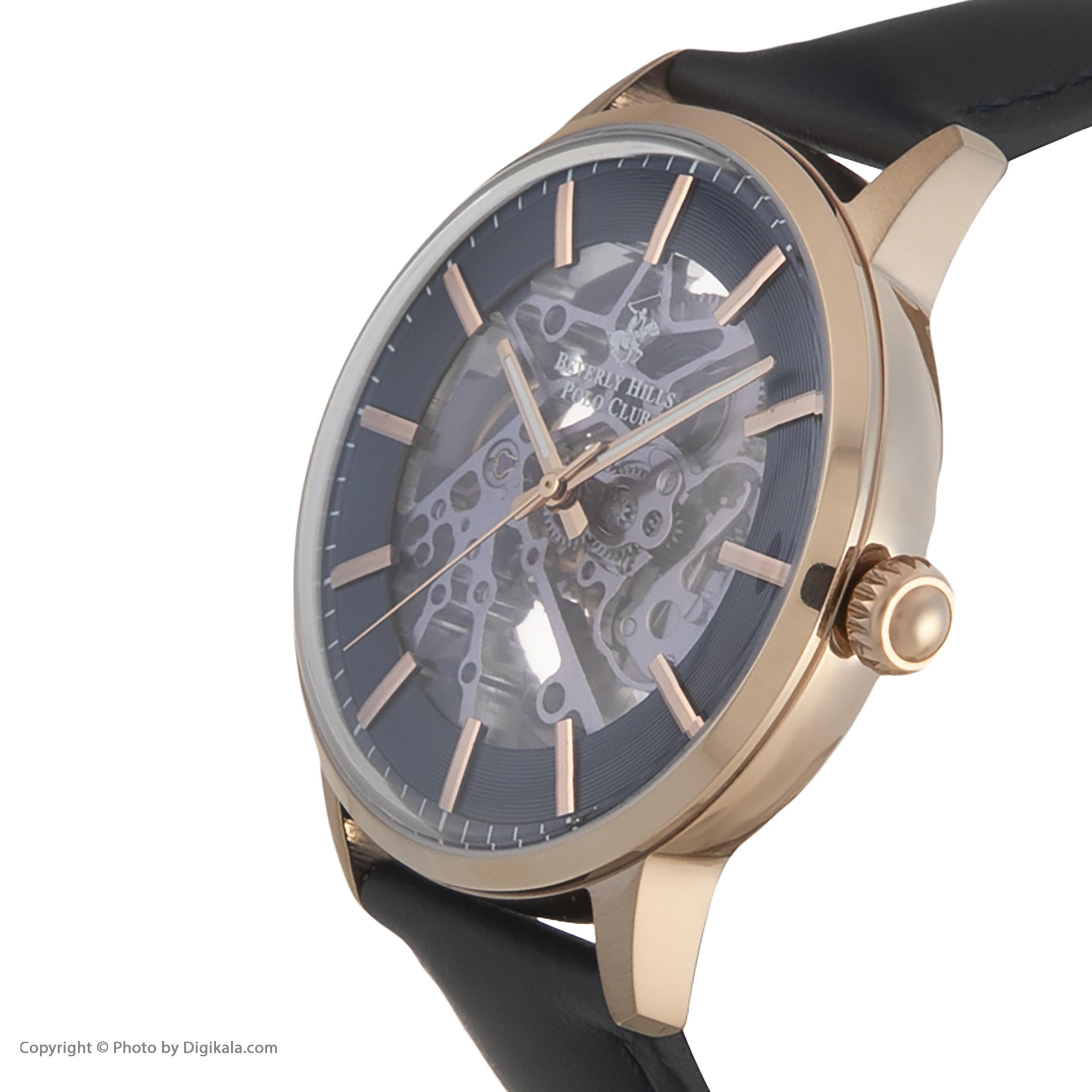 ساعت مچی عقربهای مردانه بورلی هیلز پولو کلاب مدل BP3054X.499