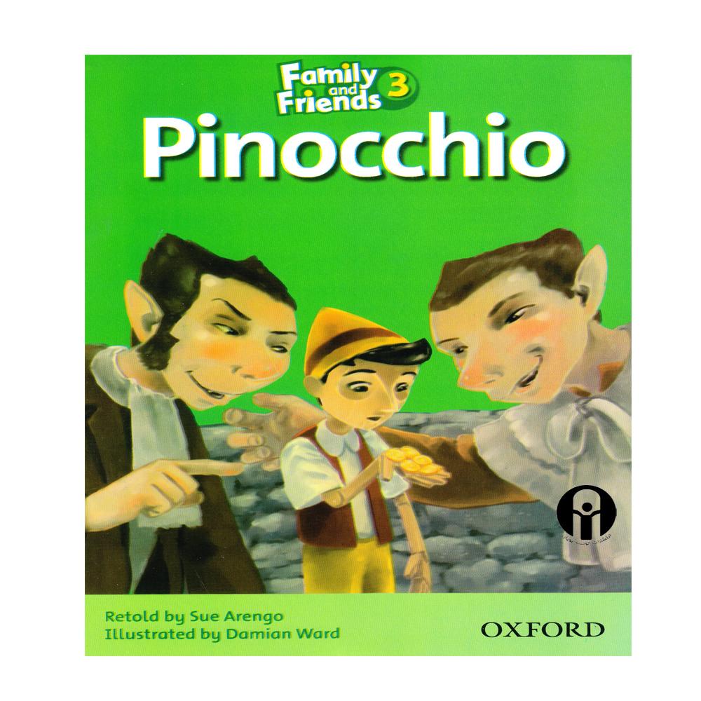 کتاب  Pinocchio اثر Retold and Sue Arengo انتشارات الوندپویان