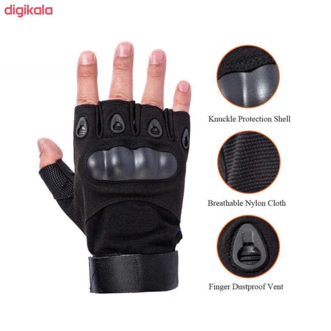 دستکش ورزشی اوکلی مدل d2 main 1 4