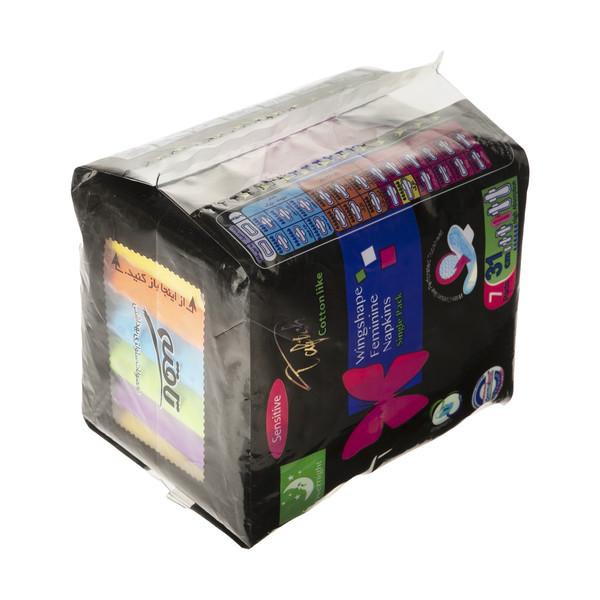 نوار بهداشتی شب تافته مدل Single Pack-1 بسته 7 عددی