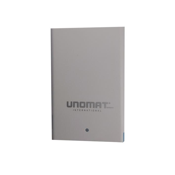 شارژر همراه یونومات مدل u2 ظرفیت 2500 میلی آمپر ساعت