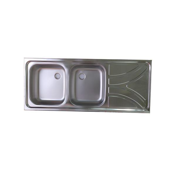 سینک ظرفشویی نگین الماس کد SA25 روکار